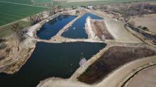 Przebudowa polderu Żelazna zwiększy bezpieczeństwo powodziowe. Rozpoczęła się budowa