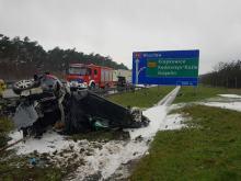 Tragiczny wypadek na opolskim odcinku A4. Nie żyje dziecko
