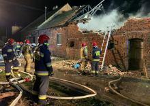Pożar w powiecie kluczborskim. Uratowano 6 świń i około 30 kur