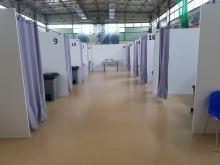 Oficjalnie otwarto masowy punkt szczepień w Kluczborku. Punkt czeka na dostawę szczepionek