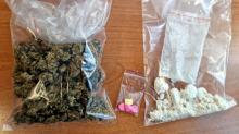 Amfetamina, marihuana oraz tabletki ekstazy w mieszkaniu 38-latki
