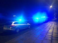 Kompletnie pijana 40-latka staranowała samochody na skrzyżowaniu Górnej z Jodłową