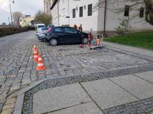 MZD montuje kolejne czujniki parkowania. Będą utrudnienia w centrum miasta
