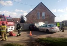 Zderzenie pojazdów w Sarnach Wielkich. Jedna osoba ranna