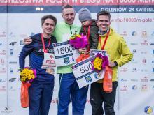 """Opolanin Szymon Dorożyński z """"życiówką"""" oraz brązowym medalem Mistrzostw Polski na 10 000 m"""