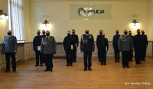 Nowi policjanci ślubowali na sztandar