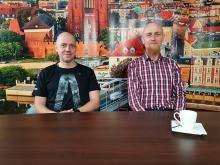 Rafał Jagiela i Marcin Hrycaj - zapraszają do wspólnego biegania z Odrą Opole