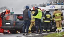 Tragiczny wypadek pod Prudnikiem. W wypadku zginęła kobieta w ciąży