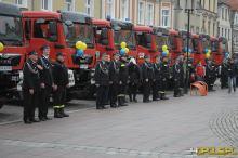 Na Opolszczyznę trafi 11 nowych wozów ratowniczo-gaśniczych