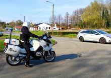 Policjanci z ruchu drogowego rozpoczęli sezon motocyklowy