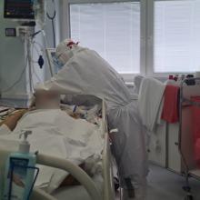 W USK utworzono 17-łóżkowy oddział dla mocno wymagających medycznie pacjentów z Covid-19