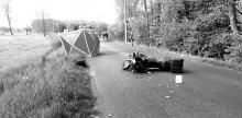 Nie żyje motocyklista. Wypadek w Kadłubie w powiecie strzeleckim