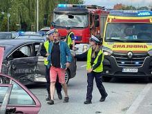 Wypadek na Niemodlińskiej w Opolu. Sprawca pijany