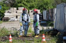Na składowisku odpadów chemicznych doszło do wycieku