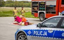 """Strażacy włączyli się do akcji """"Szanuj Życie - Bezpieczna DK94"""""""