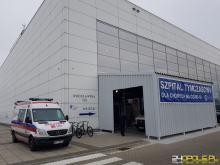 W Szpitalu Tymczasowym przybyło pacjentów. To z uwagi na przekształcanie szpitali