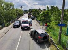 Wypadek w Kędzierzynie Koźlu. Doszło do zderzenia 3 pojazdów