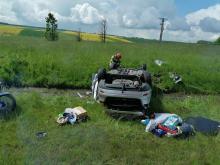 Wypadek na opolskim odcinku A4. Wśród poszkodowanych była dwójka dzieci