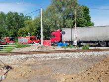 KMP Opole: Poszukiwani świadkowie śmiertelnego wypadku z przejazdu kolejowego