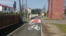 Suchy Bór: Ścieżka rowerowa piękna, ale zagraża życiu rowerzystów