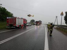 12-latek wjechał wprost pod koła BMW. Wypadek w Łosiowie