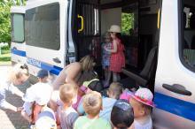 Pokazali dzieciom zawód funkcjonariusza Służby Więziennej