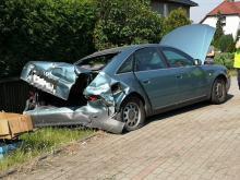 Wypadek w Lędzinach. Jedna osoba trafiła do szpitala