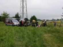 Młody kierowca nie pamięta zdarzenia. Po wypadku w Jełowej do szpitala trafiło 6 dzieci