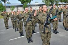 74 elewów złożyło przysięgę w 10 Brygadzie Logistycznej w Opolu