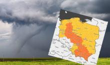 Burze, podtopienia i tornada. Środa w całej Polsce niespokojna