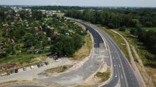 Odcinek od ulicy Zbożowej do Niemodlińskiej będzie drogą czteropasmową. Trwają prace