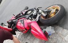 Najpierw się popisywał później uciekał - motocyklista odpowie za swoją jazdę