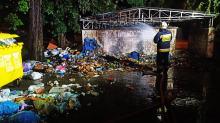 Pożar śmieci w Łambinowicach postawił na nogi dwa zastępy straży