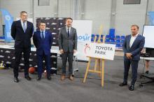 Opolski Park Sportu ma sponsora tytularnego. Od dziś to.. Toyota Park