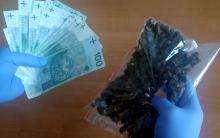 36-latek zatrzymany za posiadanie i handel narkotykami