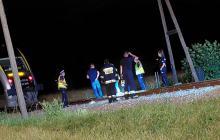 Śmiertelny wypadek na przejeździe kolejowym w powiecie nyskim