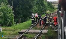 Pociąg śmiertelnie potrącił mężczyznę w Otmuchowie