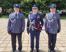 Policjanci z Opolszczyzny wyróżnieni