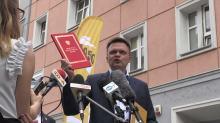Szymon Hołownia w Opolu. To kolejny przystanek w ramach cyklu #PoznajMysię