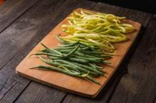 Zielona czy żółta fasolka szparagowa - czym się różnią