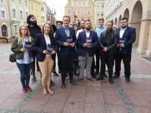 """""""Polska na nowo"""" - posłowie Konfederacji przekonywali w Opolu do swojego programu"""