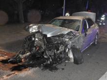 Groźne zderzenie dwóch osobówek w Opolu