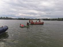 Łódź z wędkarzami wywróciła się na Jeziorze Nyskim. W akcji WOPR