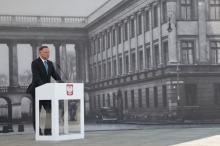 Architekci krytykują prezydenta Dudę. Nie chcą takiej odbudowy pałacu