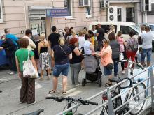 Tłumy pod Wydziałem Spraw Obywatelskich Urzędu Miasta. Można uniknąć chaosu