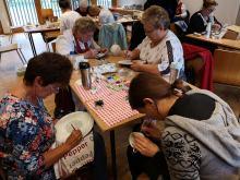 W Muzeum Wsi Opolskiej odbył się konkurs malowania porcelany