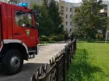 Ulatniający się gaz w budynku mieszkalnym w Opolu, wezwano straż