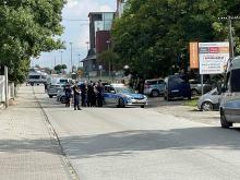 Policyjna obława na ulicy Kępskiej w Opolu