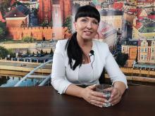 Katarzyna Gołębiowska-Jarek - walczymy o europejską nagrodę odnowy wsi