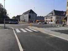 Postęp prac na ulicy Katowickiej. Patrzmy na znaki!